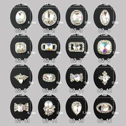 Wholesale 10x wheel Nail Art Alloy Mixed Design Tip D Glitter Jewelry Rhinestone for Nails DIY Nail Art Salon Decorations nail art Accessories