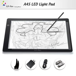 XP-Pen A4 18'' LED Art craft Tracing Light Table USB DC Light Box Drawing Pad Copy Board X-ray Pad with Paper Clips and Anti-fouling Glove