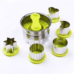 Wholesale 5 style Cookies Mould Biscuit Mold Cake Bake Mould Best Quality Bake Tools FDA Stainless Steel Kitchen Acccessories