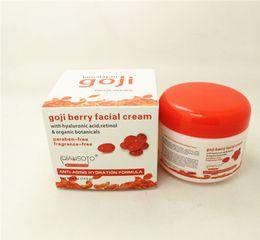 Wholesale Free DHL Hyaluronic Acid Goji Face Cream Chinese Wolfberry Medlar Multi effect Anti wrinkle Cream Inhibit Activity Of tyrosinase SZ L01