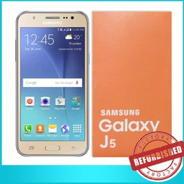 Wholesale 1x Samsung Galaxy J5 J500F UNLOCKED G LTE HSDPA GSM Quad Core inch Screen Android RAM GB ROM GB Camera MP MP Battery mAh