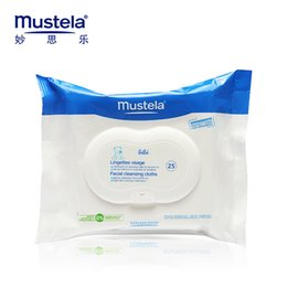 Wholesale 2016 Newborn Baby wipes new Authentic Mustela Dermo Soothing Wipes Delicately Mild clean Soft Not stimulate Child Articles product