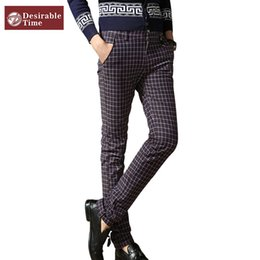 Where to Buy Plaid Dress Pants For Men Online? Buy Size 15 Red ...