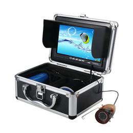 Promotion nouveaux écrans lcd New 7 '' écran 15M LCD / 30M Enregistrer la caméra sous-marine Pêche DVR Fish Finder w / 4G carte SD W2533A