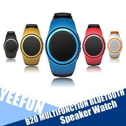 B20 Multifunction Bluetooth Speaker Watch Style Portable Music Player TF Card FM Audio Radio Speakers Wireless Universal