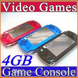 DHL FREE Built-in 5000 games, 4GB 4.3 Inch PMP Handheld Game Player MP3 MP4 MP5 Player Video FM Camera Portable Game Console C-YXJ