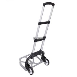 Wholesale 150 lbs Capacity Portable Folding Hand Truck Dolly Lage Carts