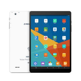 Wholesale New Coming Teclast X89 Kindow E book Reader RAM GB ROM GB mAh Intel Bay Trail Z3735F Android Windows Tablet PC