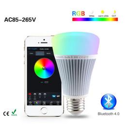YON Mi Light Smart Bluetooth 4.0 LED Light RGB + Color temperature Control with Samrtphone Remote Romantic lamp Better than Yeelight