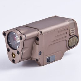 Wholesale Tactical Gun Lights CNC Finished SBAL PL LED Light With Red Laser Pistol Rifle Flashlight Constant Momentary Strobe Flashlight