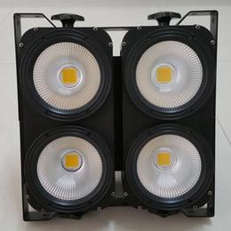 Free shipping Factory direct Warm White Matrix LED 4x100W COB LED Matrix Light LED COB Blinder Light