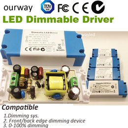 Wholesale Brand New Terminal Connction mA Dimmable LED Driver Light Transfomers Adapter W for LED Lamp Use TUV SAA Approval