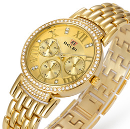 Wholesale Luxury ladies quartz watches women watches waterproof stainless steel alloy series fashion watches leisure and business quartz watch for bel