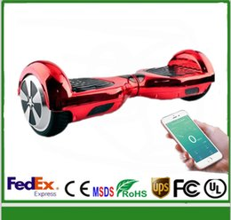 fashion chrome scooter without bluetooth Smart Balance Two Hoverboard Electric hoverboard Electric Scooter Two Wheel Balancing Good Quality