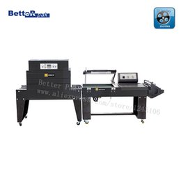 Wholesale FQL C Pneumatic L Type Sealer BS A450 Shrink Tunnel POF PVC PP shrink tunnel L bar thermal packaging machinery