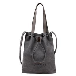 2016 The New Korean Tide Fashion Art Handbags RETRO Minimalist Canvas Bag Shoulder Messenger Bag Tote Bag 840