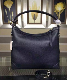 new women genuine leather hobo bag famous tote lady bags fashion designer purse 573