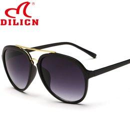 Wholesale 2016 new designer warfare sunglasses brown lens sun glasses women HD pilot sunglasses high quality dilicn brand