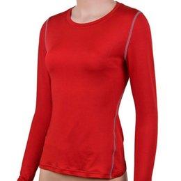 Wholesale Long Tank Top Xxl Women - Wholesale-Outdoor Hot Selling Ladies Long Sleeve Yoga T-Shirt Womens Fitness Running Gym Sports Tank Tops Wza01
