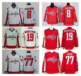Wholesale Men s Washington Capitals Alexander Ovechkin Red Home Captain Premier Jersey Hockey Playoffs Jerseys Brand Hockey Wear Cheap Sports Jerseys
