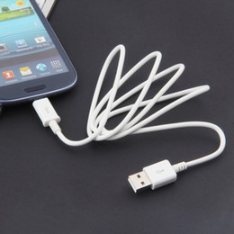 Universal Detachable Micro USB 2.0 Data Charging Cord Data Sync Charger Cable For Most Samsung Phones Galaxy Android Phone White
