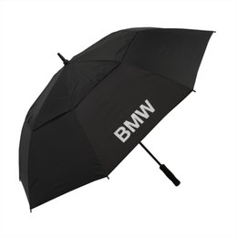Wholesale factory price personalized folded BMW car promotion advertising golf umbrella gift umbrella sunshade umbrella mix color with custom logo