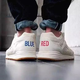 Wholesale 2016 Brand Discount Kendrick Lamar Ventilator Red Blue Womens Mens Sports Running Athletic KL V68673 Trainers Shoes Size