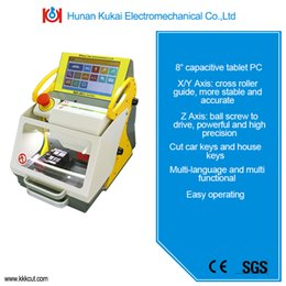 Wholesale Newest Version Computerized Modern SEC E9 Russian Language Key Cutting Machine With Secure Shipping