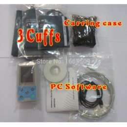 Wholesale Children amp Adult hours Ambulatory Blood Pressure Monitor Holter BP monitor ABPM cuffs PC software USB Carring case