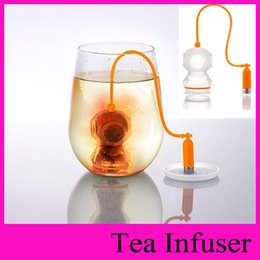 Wholesale Deep Coffee Tea Infusers Makers Diver Loose Leaf Strainer Bag Mug Filter Kitchen coffee tea tools for health beauty slimming