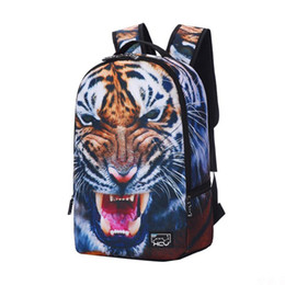 Backpack 2016 new Korean tiger shark dolphin creative personality characters of male and female students leisure backpack bag