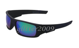 Hot sales Brand Fashion Mens luxurious black frame Resin lenses Crankshaft sport SUNGLASS designer Dazzle colour GLASSES 9239 Eyewear