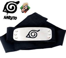Naruto forehead naruto ninja headband with red blue and black color you can choose