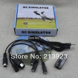 Wholesale SALE in1 AIO RC Flight Simulator CD Software Cable USB Dongle for Phoenix XTR G7 G6 G5 G5 Car Heli Aeroplane Aircraft