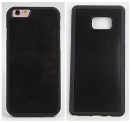 Wholesale For iphone Plus s plus SE S Anti Gravity Nano Back Cover Cover Technology TPU Selfie Back Stick Case Grip Magic Phone Suction Skin