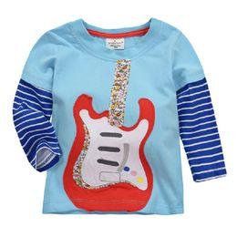 Jumping Beans Girls T-Shirts Kids Clothes Fashion Children Long T Shirt Boys Outfits 100% Cotton Kids Tops Spring Clothes 36pcs