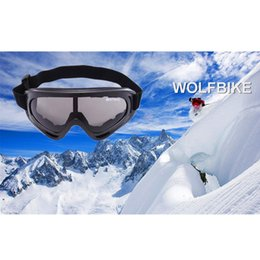 Wholesale Wolfbike UV400 New Awesome Sunglasses Safety Eyewear Goggle Skating Skiing Bicycle Motorcycle Riding Open air Activities Lens