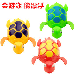 Wholesale New Wind up Swimming Funny Turtle Turtles Pool Animal Toys For Baby Kids Bath Time wd001