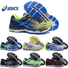 Asics Gel-Nimbus 17 XVII Men Running Shoes Top Quality Cheap Training Breathable Men's Walking Outdoor Sport Shoes Free Shipping Size 7-10