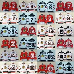 Wholesale Chicago Blackhawks jerseys cheap hockey jerseys KANE TOEWS HULL CRAWFORD KEITH HOSSA SHAW SEABROOK freeship