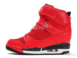 Wholesale 2016 Women air revolution sky hi height increasing shoes women s sneakers walking shoe jogger Shoes