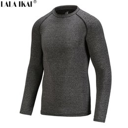 Wholesale AKAI Fitness Shirt Men Climbing Breathable Training Hiking Shirt Male Military Quick Dry Camping Outdoor Sport Shirt HMD0240