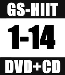 Free Shipping New Routine GS 1 - 14 ST HIIT 30 Minutes GS1-14 ST1-14 DVD+CD Exercise Fitness Videos (This price is 1pcs course)