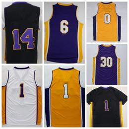 Wholesale Best Basketball Shirt Purple Black White Yellow Basket ball Sport Jerseys With Player Name Team Logo Camiseta de baloncesto