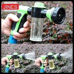 Wholesale Foam Water Gun Car Washer High Pressure Cleaning Home lawn irrigation garden watering adjustable patterns head