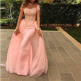 Evening Dresses 2017 New Arrivals Cap Sleeve Mermaid prom dresses Floor-Length None Scalloped Neck Vestidos de Noiva