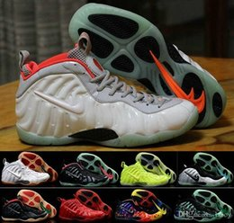 Wholesale 2016 Newest Mens Air Penny Hardaway Foamposites Galaxy Men Foams Basketball Shoes Olympic Foamposite Basket Ball Running Shoes Sneakers