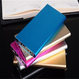 Wholesale For iphone plus mah Power Bank Portable USB mobile battery Powerbank For mobile camera GPS s7