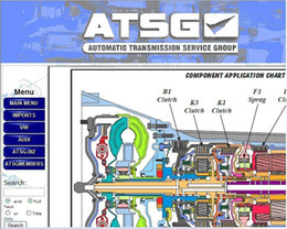 Wholesale ATSG atsg auto automatic transmission repair manual Automatic Transmissions Service Group Repair Information car repair manuals