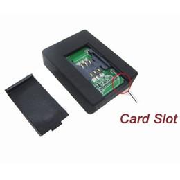 Wholesale GPS accessories N9 RealTime Listening Device Mini Spy Box SIM Card GSM Voice Tracker Auto Dialer Surveillance Device